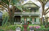 Front of Alexander Homestead Bed & Breakfast Inn in historic downtown Saint Augustine, Florida