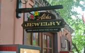Aloha Jewelry is convenient located in downtown St. Augustine, Florida.