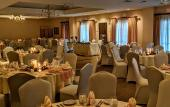 The Milano Banquet room at Amici Italian Restaurant in St. Augustine.