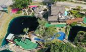 Anastasia Mini-Golf Course - bird's eye view near the entrance in St. Augustine.
