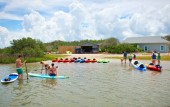Kayaks, and paddle-boards at Anastasia Watersports in St. Augustine, Florida