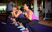 Training at Anytime Fitness in Fruit Cove, FL