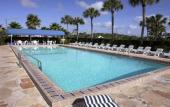The pool at La Fiesta Ocean Inn & Suites in St. Augustine Beach, Florida
