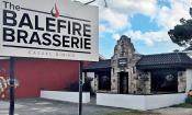 The Balefire Brasserie is located on Anastasia Blvd. in St. Augustine Beach, Florida.