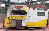 Banana Locos Food Truck offers frozen bananas dipped in chocolate and other good things in St. Augustine.