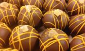 Chocolate drizzle at Whetstone Chocolates