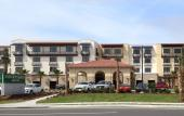 The Courtyard Marriott St. Augustine Beach is located just a block away from beautiful St. Augustine Beach.