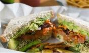 Sandwich from Diane's Natural Market Café in St. Augustine.