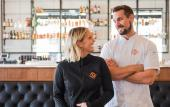 Ember & Iron owners, Chef Michael and Brittany Cooney