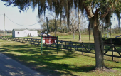 St. Johns County Equestrian Center Entrance in Hastings, Florida