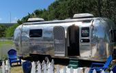 Pop-up markets on Airstream Row feature art, crafts and goods from local vendors.