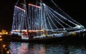 Watch holiday magic float down the Intracoastal Waterway in Palm Valley's annual boat parade.