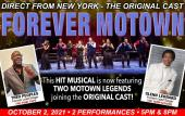 The Ponte Vedra Concert Hall will present two performances of 'Forever Motown' Oct. 2, 2021