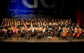 The Gainesville Orchestra will perform in concert at the St Augustine Amphitheatre.