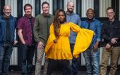 The New Orleans funk band, Galactic, performs with guest Anjelika Jelly at the Ponte Vedra Concert Hall.