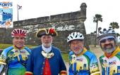 The North Florida Bicycle Club hosts its Annual Tour de Forts Classic in St. Johns County and St. Augustine, Florida.