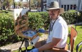 The 5th Annual St. Augustine Plein Air Paint Out will culminate in an art exhibit at the St. Augustine Art Association May 7, 2021.