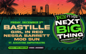 X106.5 will bring the Next Big Thing concert series to the St. Augustine Amphitheatre in December 2021.
