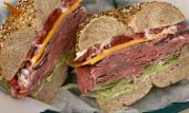 Bagel Sandwich at Everything Bagel in St. Augustine, FL.