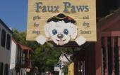 "Faux Paws in downtown St. Augustine has ""everything you want for your pet but nothing you need."""