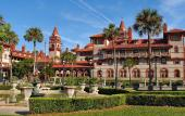 Flagler College in historic St. Augustine was built by Henry Flagler as the Ponce de Leon hotel in 1888.
