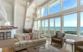 """The """"Captains Cottage"""" A-Frame in Vilano available through Florida Rentals in St. Augustine."""