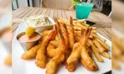 Shrimp Platter at Santiago's Florida Kitchen & Craft Bar