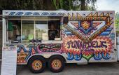 Funkadelic Food Truck, now located at Dog Rose Brew Pub in St. Augustine.