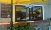 Good Karma Cafe in the Village Garden Food Truck Park on Anastasia Island in St. Augustine, FL.