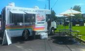 Haute Dawgs food truck in St. Augustine, FL.