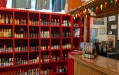 Visitors are invited to try samples of select hot sauces at Hot Stuff in St. Augustine.