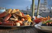 Seafood at Hurricane Patty's in St. Augustine, Florida