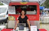Maria and the team at the I Love Pierogi food truck in St. Augustine.