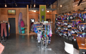 Shop hand-made swim suits at Savage Swim in St. Augustine Beach, Florida