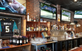 Inside TAPS Bar & Grille on C.R. 210