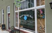 The entrance of The Key Lime Shop in St. Augustine.