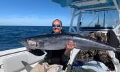 Man holding a big fish