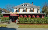 Le Pavillon Restaurant is located in the Uptown San Marco district of St. Augustine.
