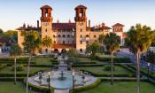 The Lightner Museum is housed in the former Alcazar Hotel in St. Augustine.
