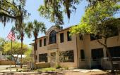 The Lincolnville Museum and Cultural Center is located in the old Excelsior High School in St. Augustine, Florida.