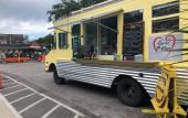 View of the Luvin' O-Van food truck