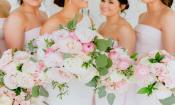 Bridal flowers courtesy of Malia Floral Design in Ponte Vedra FL.