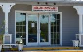 Melli Chocolates at Crescent Beach on Anastasia Island in St. Augustine.