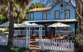 Moon and Sun Cafe serves breakfast and lunch in downtown St. Augustine, Florida.