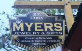 Myers Jewelry and Gifts in historic St. Augustine, Florida.