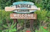 The sign at Nocatee Landing Paddle Launch.