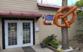 Outside of Bakersville Bread Company in St. Augustine, Fl