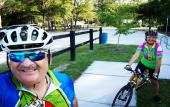 Cyclists enjoy the trail from St. Augustine to Palatka