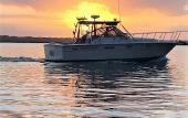 The Carolina Skiff that operates scenic charters in St. Augustine.