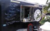 Piccola Cucini Food Truck offers food at Marina Munch in St. Augustine.